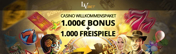 LVbet Casino Willkommens Bonus Gratis Freispiele