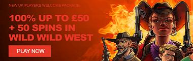 Wild Slots Casino UK New Player Welcome Bonus