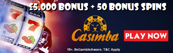 Casimba Sign Up Welcome Bonus