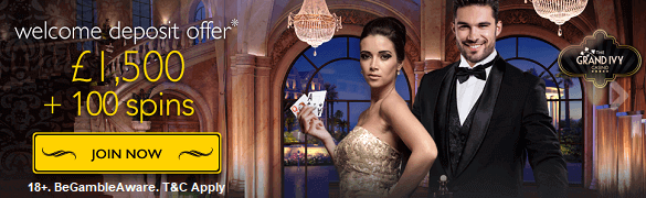 Grand Ivy Casino UK Bonus Free Spins