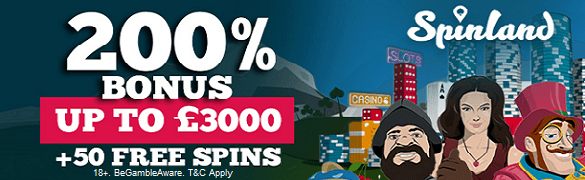 Spinland Casino UK Casino Bonus