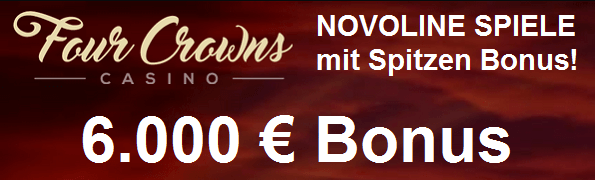 Four Crowns Casino Start Bonus
