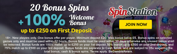 Spinstation Bonus UK
